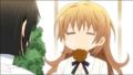 [anime][gif][WORKING!!][轟八千代][もぐもぐ][スライド]