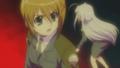 [anime][リリカルなのは][八神はやて][リインフォース][あし]