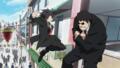 [gif][アイマスgif][アイドルマスター][菊地真][蹴り][アクション][格闘][作画]エージェント夜を往く