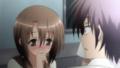 [anime][gif][これはゾンビですか?][平松妙子][うるうる][まばたき][赤面]