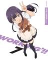 [anime][WORKING!!][山田葵]