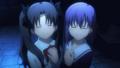 [anime][gif][Fate][遠坂凛][間桐桜][遠坂姉妹][泣き笑顔]