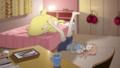 [anime][gif][TARI TARI][宮本来夏][あし][足バタ][宮本来夏イルカ]