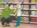 [anime][gif][うさぎドロップ][鹿賀りん]