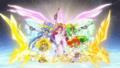 [anime][gif][スマイルプリキュア][星空みゆき][日野あかね][黄瀬やよい][緑川なお][青木れいか][プリンセスフォーム ]