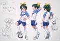 [anime][スマイルプリキュア][緑川なお][設定画][スポーツ少女]