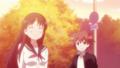 [anime][gif][咲-saki-][清水谷竜華][仕草][江口セーラ]