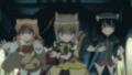 [anime][gif][DOG DAYS][クーベル][リコッタ][ジェノワーズ][走る]