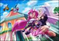 [anime][スマイルプリキュア][星空みゆき][スマイルプリキュア他][お姫様抱っこ]