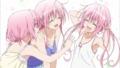 [anime][ToLOVEる][ToLOVEるダークネスED][ナナ(ToLOVEる)][モモ(ToLOVEる)][ララ(ToLOVEる)][デビルーク三姉妹][+][髪型][ToLOVEる腋]