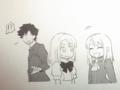 [manga][Fate][イリヤスフィール]