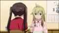 [anime][みなみけ][南千秋][南夏奈][あたま][後ろ姿]