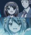 [anime][涼宮ハルヒの憂鬱][涼宮ハルヒ]閉鎖空間にわくわくしてるハルヒ