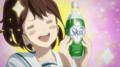 [anime][gif][Robotics;Notesgif][Robotics;Notes][瀬乃宮あき穂][スコール][目がしいたけ][キラキラ][ぱああ]