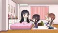 [anime][gif][Aチャンネル][トオル][ユー子][おかゆ][あーん][ちびキャラ]