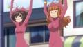 [anime][ガールズ&パンツァー][あんこう踊り][武部沙織][秋山優花里][おっぱい][+]