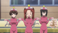 [anime][gif][ガールズ&パンツァー][ガルパンgif][あんこう踊り][西住みほ][主人公(あんこう)][角谷杏][生徒会(カメ)][おっぱい]