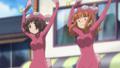 [anime][gif][ガールズ&パンツァー][ガルパンgif][あんこう踊り][武部沙織][秋山優花里][おっぱい]