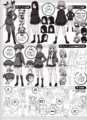 [anime][ガールズ&パンツァー][ガルパン資料][設定画][ガルパン他][アンツィオ高校][プラウダ高校][サンダース大付属高校]