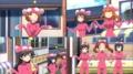 [anime][ガールズ&パンツァー][あんこう踊り][西住みほ][武部沙織][五十鈴華][小山柚子][河嶋桃][ちちくらべ][おっぱい]