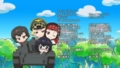 [anime][ガールズ&パンツァー][ガルパン資料][サンクス][協力][カエサル(ガルパン)][エルヴィン][左衛門佐][おりょう][歴女(カバ)]