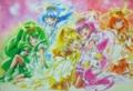 [anime][スマイルプリキュア][星空みゆき][日野あかね][オトナっぽい][黄瀬やよい][緑川なお][青木れいか][プリンセスフォーム]