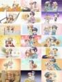 [anime][ひだまりスケッチ]ハニカム第1~7話OP差し替え絵