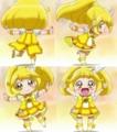 [anime][スマイルプリキュア][スマプリロリ][スマプリ変身][黄瀬やよい][ダブルピース]