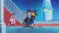 [anime][スマイルプリキュア][スマプリシンデレラ][星空みゆき][星空みゆきドレス][黄瀬やよい][黄瀬やよい魔法使い][青木れいか][青木れいか王子][お姫様抱っこ]
