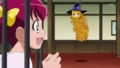 [anime][スマイルプリキュア][スマプリシンデレラ][星空みゆき][顔汗][黄瀬やよい][黄瀬やよいミノムシ]