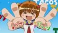 [anime][咲-saki-][片岡優希][咲-saki-エンドカード][またみるんだじぇ~][ダブルピース]