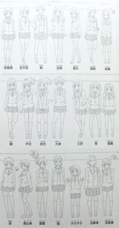 [anime][中二病でも恋がしたい][中二病資料][中二病他][設定画][巫部風鈴][枚方さん][クラスメイト]