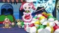 [anime][ジュエルペット][大宮ぴんく][大宮ぴんくクリスマス][ぺたん座り]