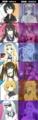 [インフィニット・スト][IS原作][okiura][CHOCO][比較][篠ノ之箒][セシリア・オルコット][凰鈴音][シャルロットデュノア][ラウラボーデヴィッヒ]