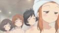 [ガールズ&パンツァー][ガルパンお風呂][武部沙織][茶化し顔][五十鈴華][西住みほ][秋山優花里][お風呂]