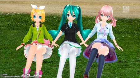 [game][Project DIVA][ボーカロイド][ぱんつ]