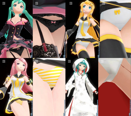 [game][Project DIVA][ぱんつ][Project DIVAぱんつ]