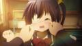 [gif][中二病gif][中二病でも恋がしたい][小鳥遊六花][ほっぺ][ぐにぐに]