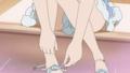 [ゆゆ式][みえない][あし][靴を]日向縁 玄関で靴を脱ぐ