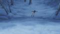 [gif][ガルパンgif][ガールズ&パンツァー][秋山優花里][滑る]