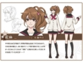 [BROTHERS CONFLICT][朝日奈絵麻][設定画]