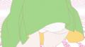 [gif][物語シリーズgif][物語シリーズ][物語シリーズセカンド][猫物語][八九寺真宵][ぱんつ][走る]