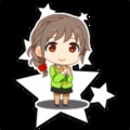 [gif][アイマスgif][アイドルマスター][シンデレラガールズ][ローディングキャラ][ちびキャラ][千川ちひろ]