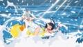 [夜桜四重奏][腋][夜桜腋][七海アオ][岸桃華][夜桜水着]