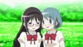 [gif][まどマギgif][まどか☆マギカ][まどマギネタ][暁美ほむら][美樹さやか][すりすり]