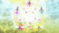 [gif][ドキプリgif][ドキドキプリキュア][相田マナ][菱川六花][四葉ありす][円亜久里][剣崎真琴][翼]