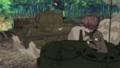[gif][ガルパンgif][ガールズ&パンツァー][戦車(ガルパン)][アリサ][くるり][バレー部(アヒル)]