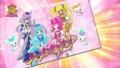 [プリキュアシリーズ][プリキュア10週年][花咲つぼみ][来海えりか][明堂院いつき][月影ゆり][ハトプリ]
