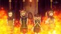 [gif][ウィッチCWgif][ウィッチクラフトワー][倉石たんぽぽ][拷問][火炙り]