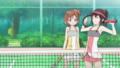 [うーさーのその日暮ら][腋][うーさー腋][テニスウェア]
